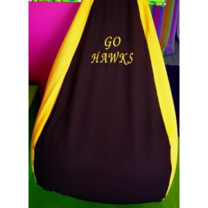 Hawks Footy Bean Bag