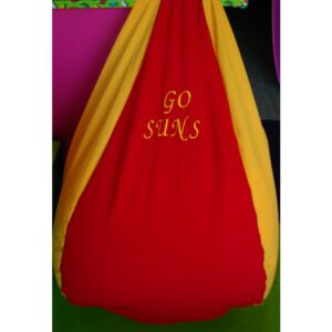 Gold Coast Suns Footy Bean Bag